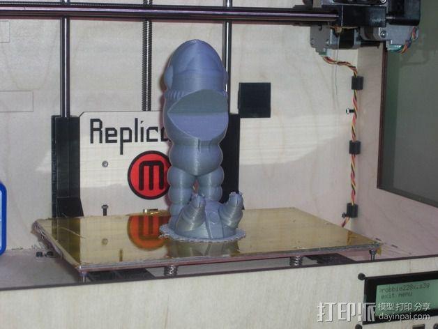 机器人001 3D模型  图4