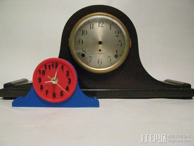台钟 3D模型  图1
