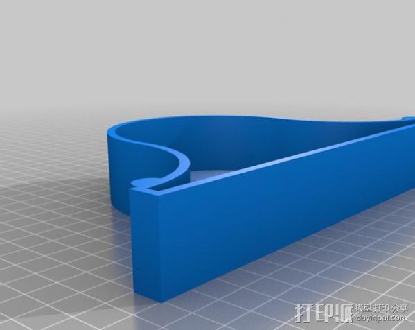 台钟 3D模型  图3