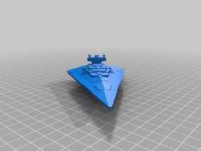 歼星舰 3D模型