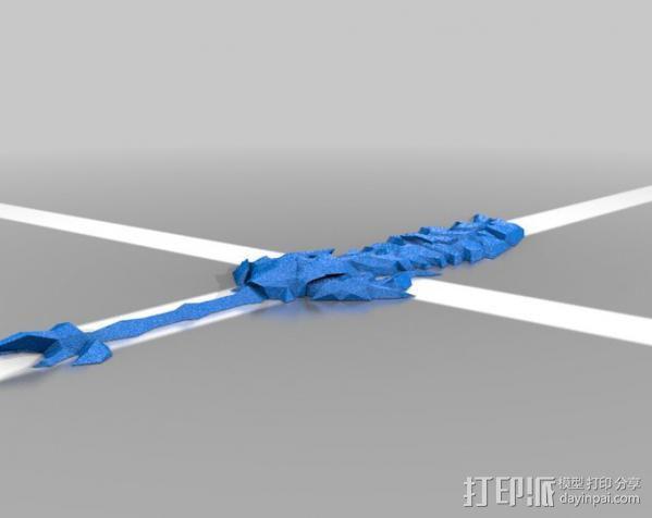 剑 3D模型  图1