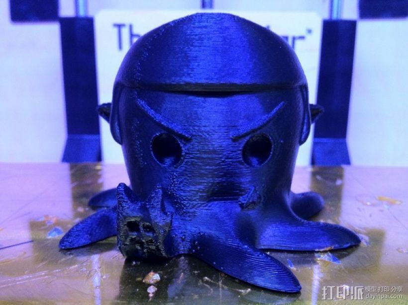 章鱼 玩偶 3D模型  图2
