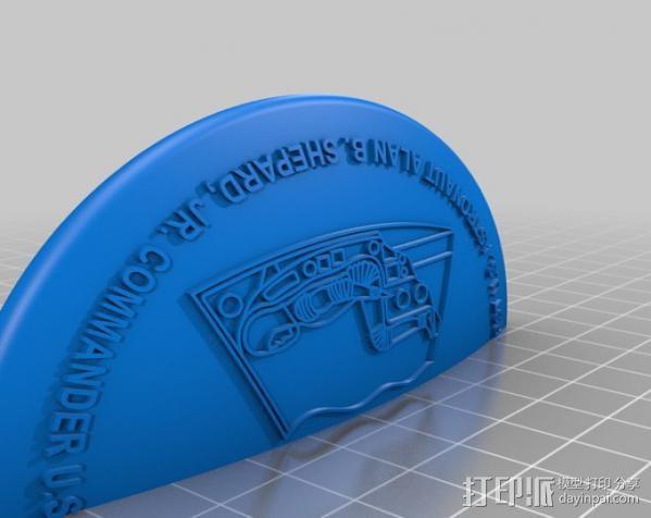 自由7号 存钱罐 3D模型  图8