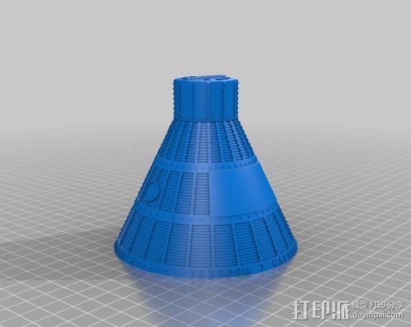 自由7号 存钱罐 3D模型  图9