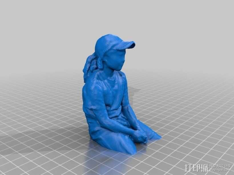 人物半身像 3D模型  图3