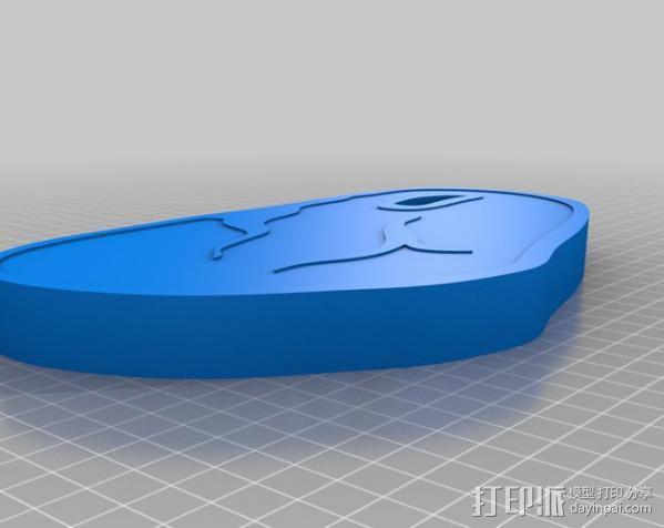 牛排  3D模型  图1