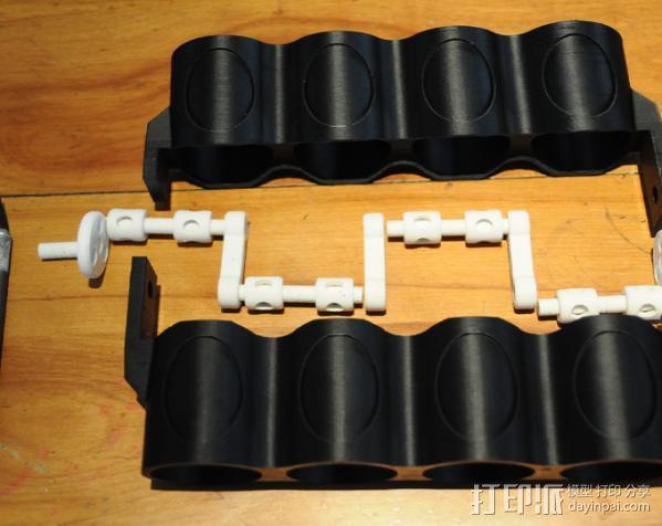v8发动机 3D模型  图5