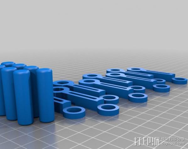 v8发动机 3D模型  图14