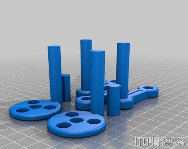 v8发动机 3D模型  图15