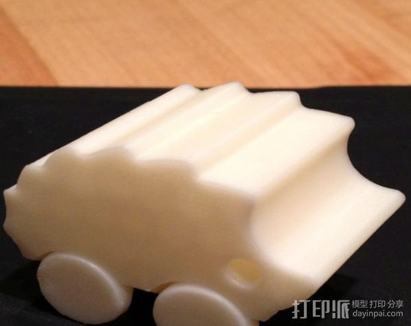 刺猬小车 3D模型  图2