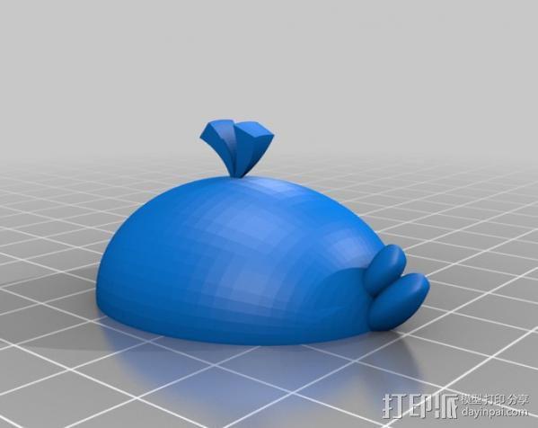 愤怒的小鸟 套件 3D模型  图11