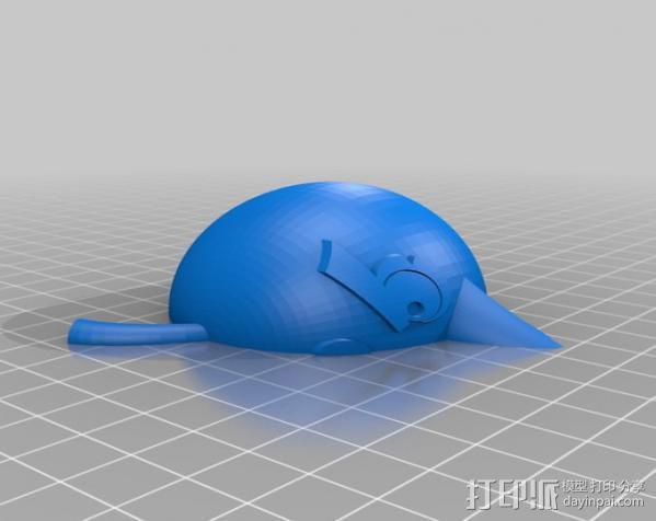 愤怒的小鸟 套件 3D模型  图13