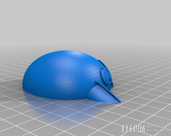 愤怒的小鸟 套件 3D模型  图14