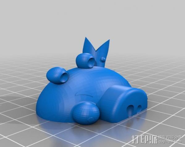 愤怒的小鸟 套件 3D模型  图19