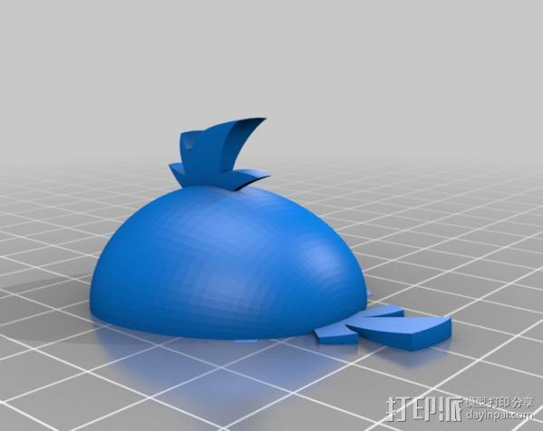 愤怒的小鸟 套件 3D模型  图21