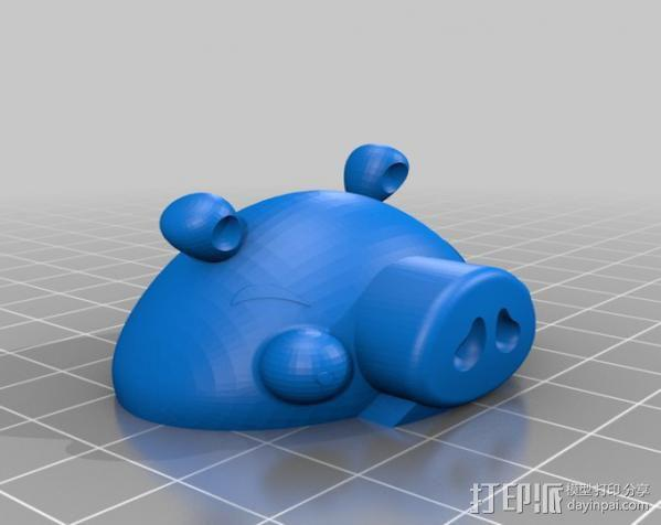 愤怒的小鸟 套件 3D模型  图24