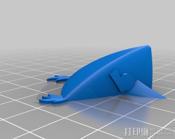 愤怒的小鸟 套件 3D模型  图28