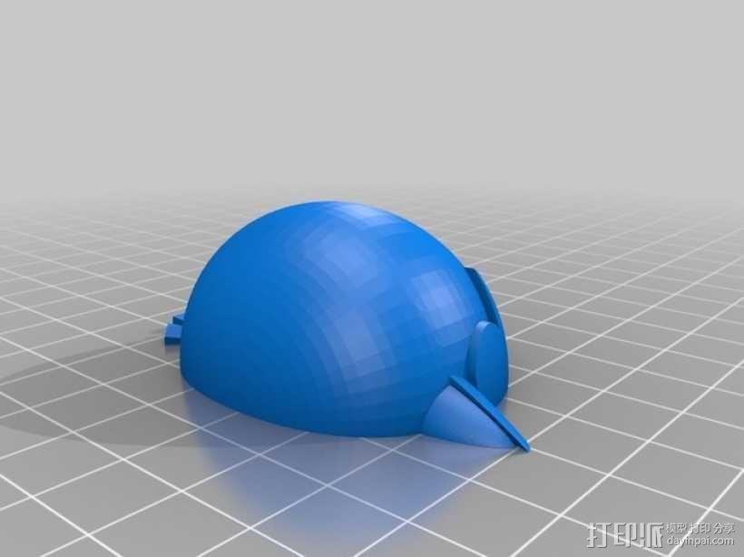 愤怒的小鸟 套件 3D模型  图31
