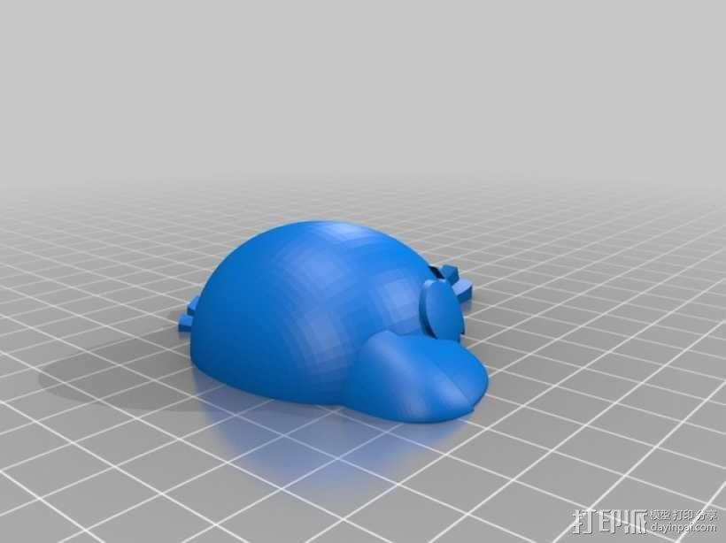 愤怒的小鸟 套件 3D模型  图32