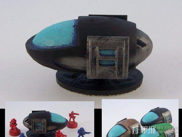 气垫车 3D模型  图2