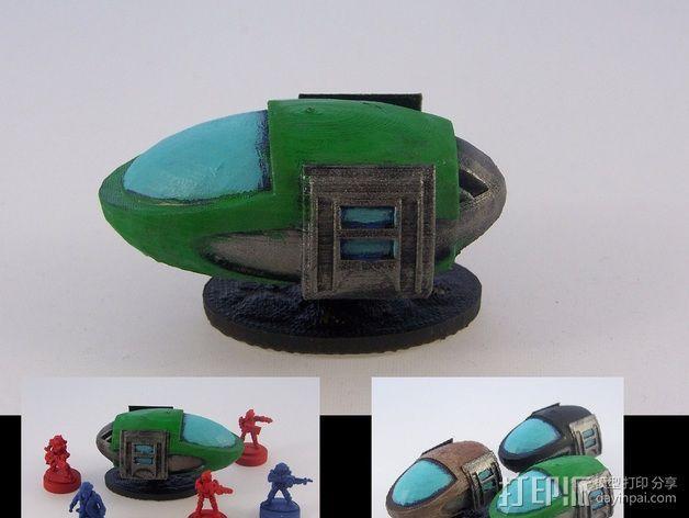 气垫车 3D模型  图4