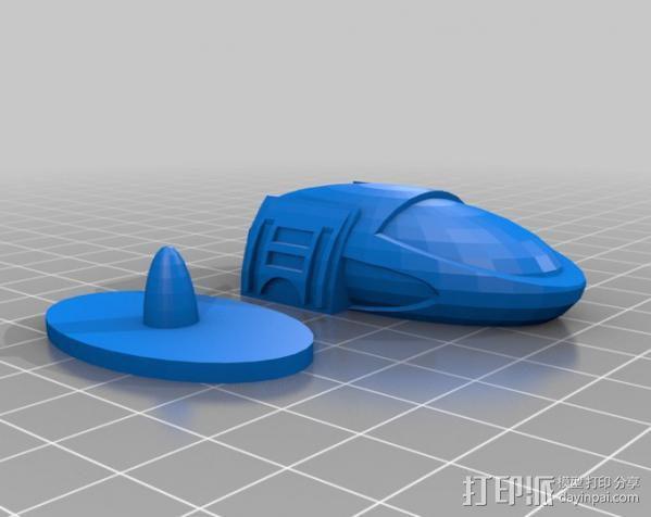 气垫车 3D模型  图5
