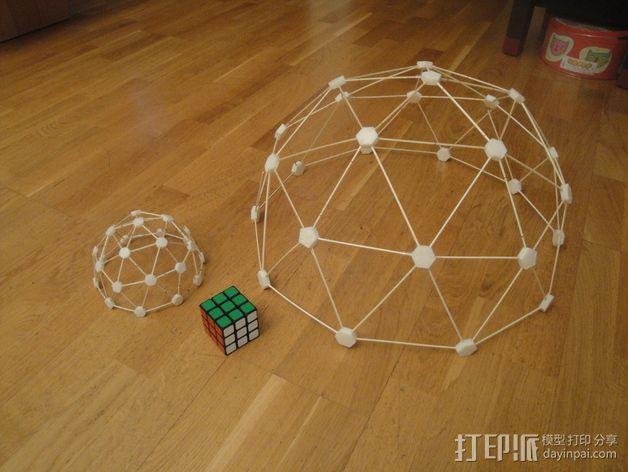 迷你参数化建筑圆顶 3D模型  图2