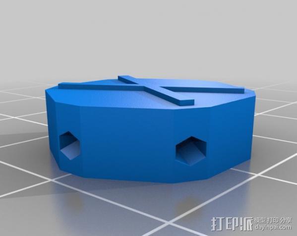 迷你参数化建筑圆顶 3D模型  图8