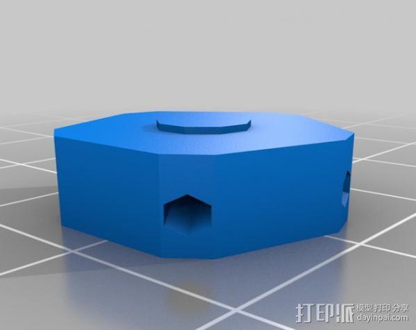 迷你参数化建筑圆顶 3D模型  图9