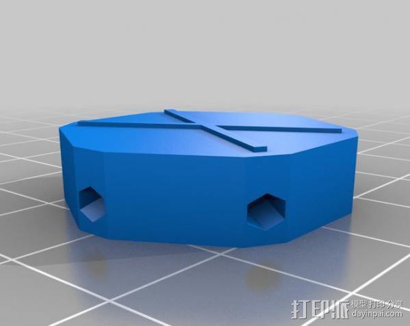 迷你参数化建筑圆顶 3D模型  图11