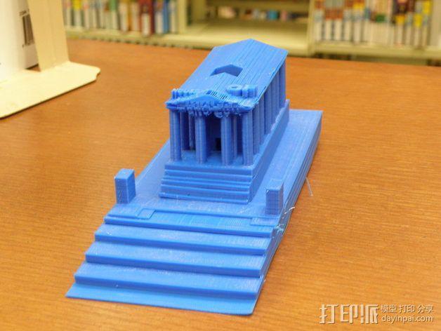 西班牙曼切戈 格伦埃林公共图书馆 3D模型  图2