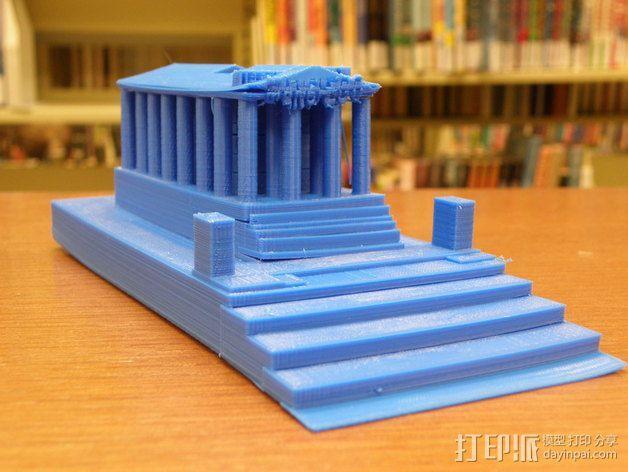 西班牙曼切戈 格伦埃林公共图书馆 3D模型  图3