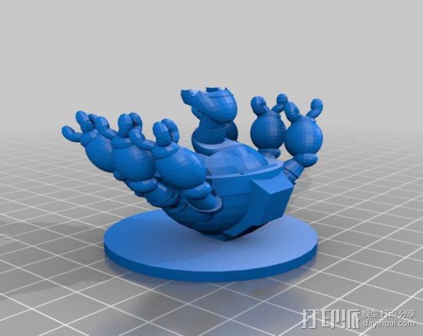 个性化机器人 3D模型  图1
