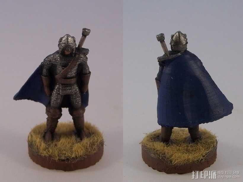 巨剑 战士 3D模型  图1