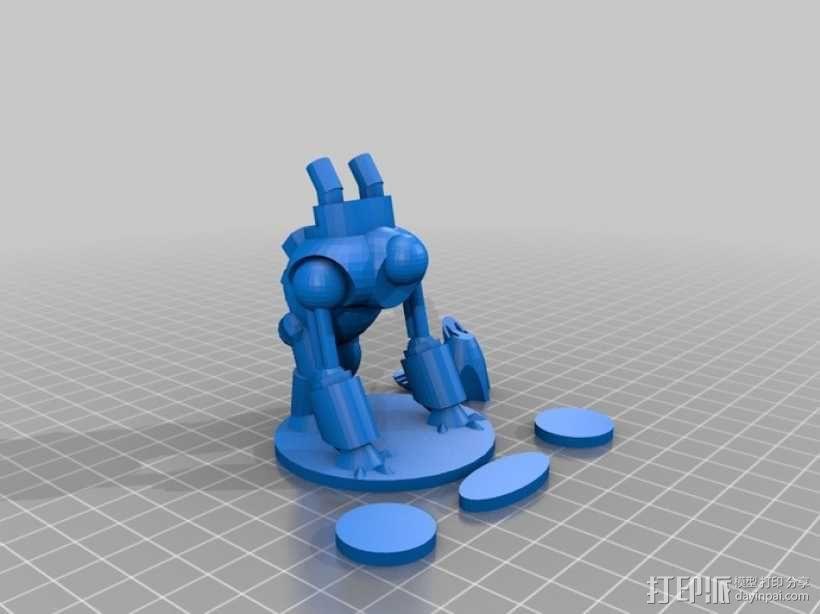 猪 机器人 3D模型  图5