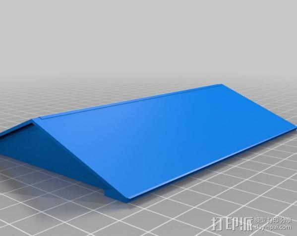 两层小楼 3D模型  图4
