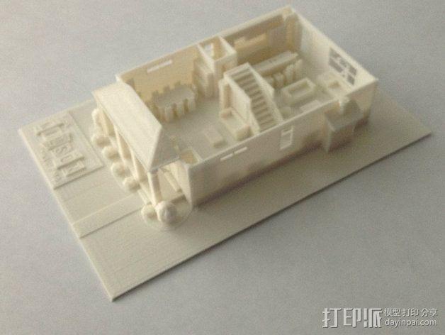 两层小楼 3D模型  图8