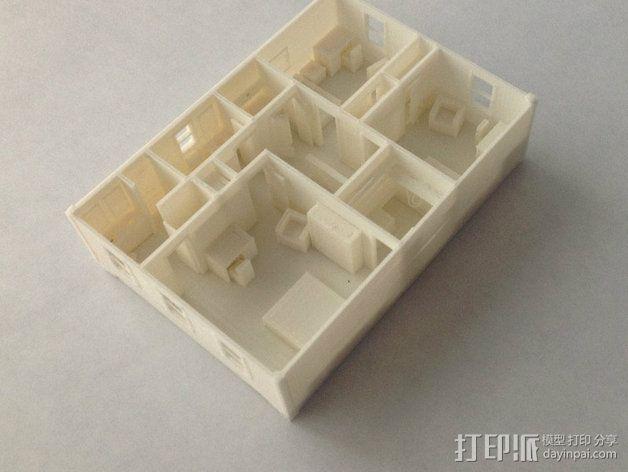 两层小楼 3D模型  图10