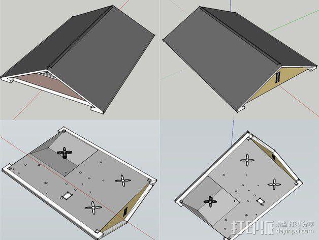 两层小楼 3D模型  图16