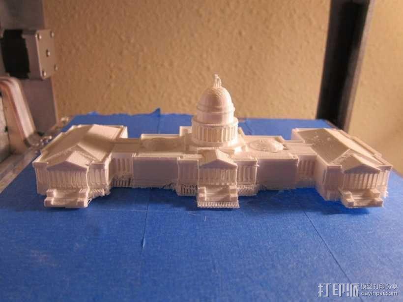 美国国会大厦 3D模型  图5