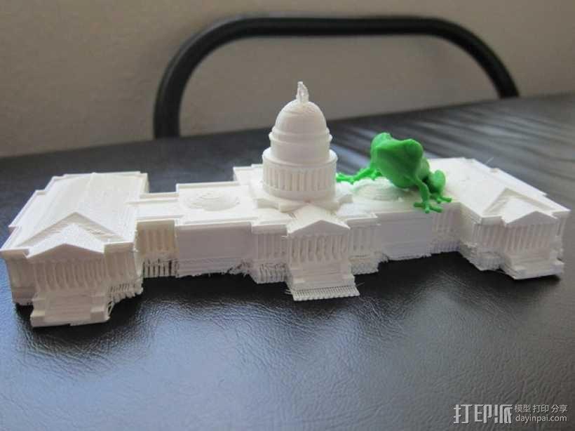 美国国会大厦 3D模型  图3