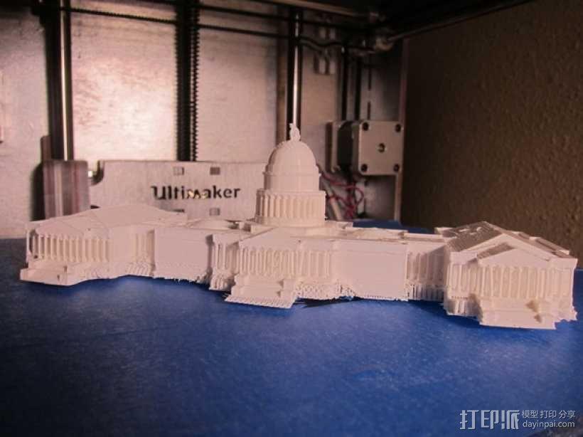 美国国会大厦 3D模型  图4