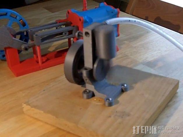 迷你振荡蒸汽机MKI 3D模型  图3