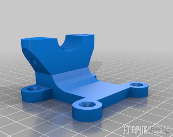 迷你振荡蒸汽机MKI 3D模型  图4