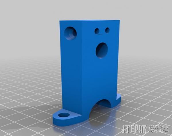迷你振荡蒸汽机MKI 3D模型  图5