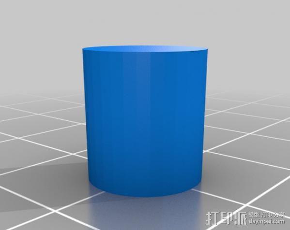 迷你振荡蒸汽机MKI 3D模型  图6