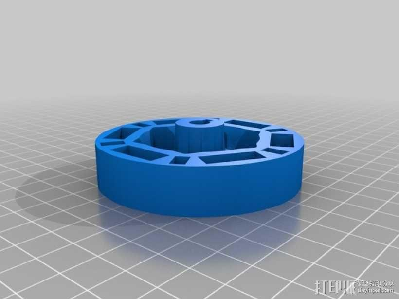 迷你振荡蒸汽机MKI 3D模型  图12