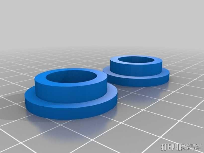 迷你振荡蒸汽机MKI 3D模型  图16