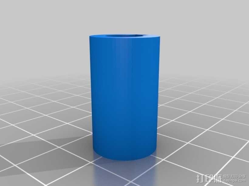 迷你振荡蒸汽机MKI 3D模型  图15