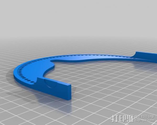 《星际迷航》Geordi Laforge护具 3D模型  图2